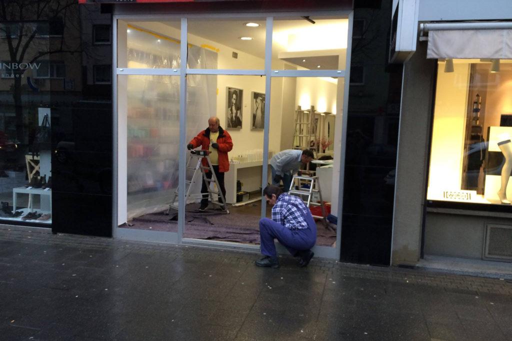 Fachgerechter Einbau von Fenstertüren