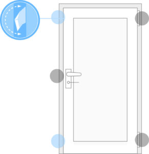 Sicherheitstüren mit Einbruchschutz